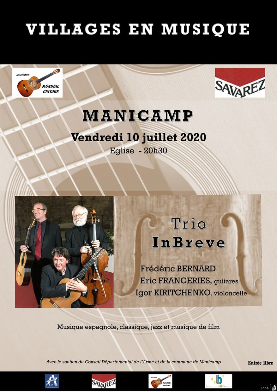 trio InBreve manicamp 2020